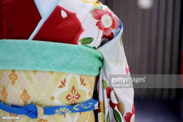 Part of Kimono,close up