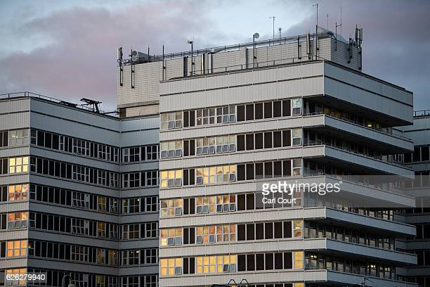 Part of Lister Hospital is pictured on November 28 2016 in Stevenage England Barry Bennell a football coach accused of sex offences against young...