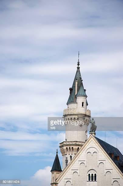 Teil der Burg Neuschwanstein