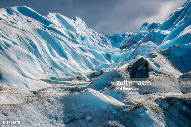 Part of Perito Moreno glacier in Argentina