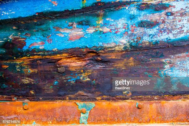 Part of shipboard - Natural and abstract