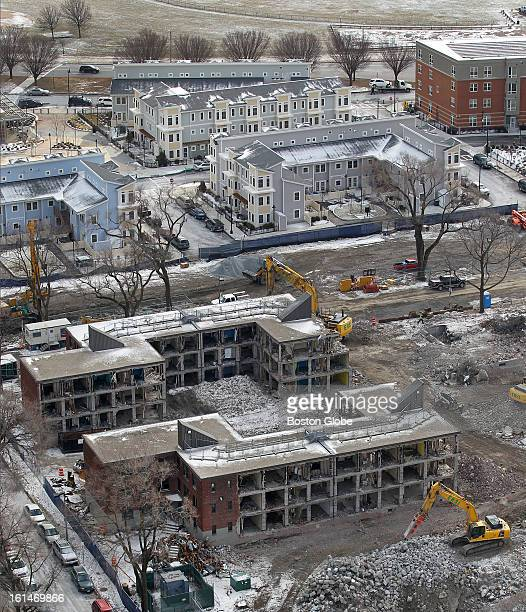 A part of South Boston almost gone The second phase of the Old Colony redevelopment project is moving forward