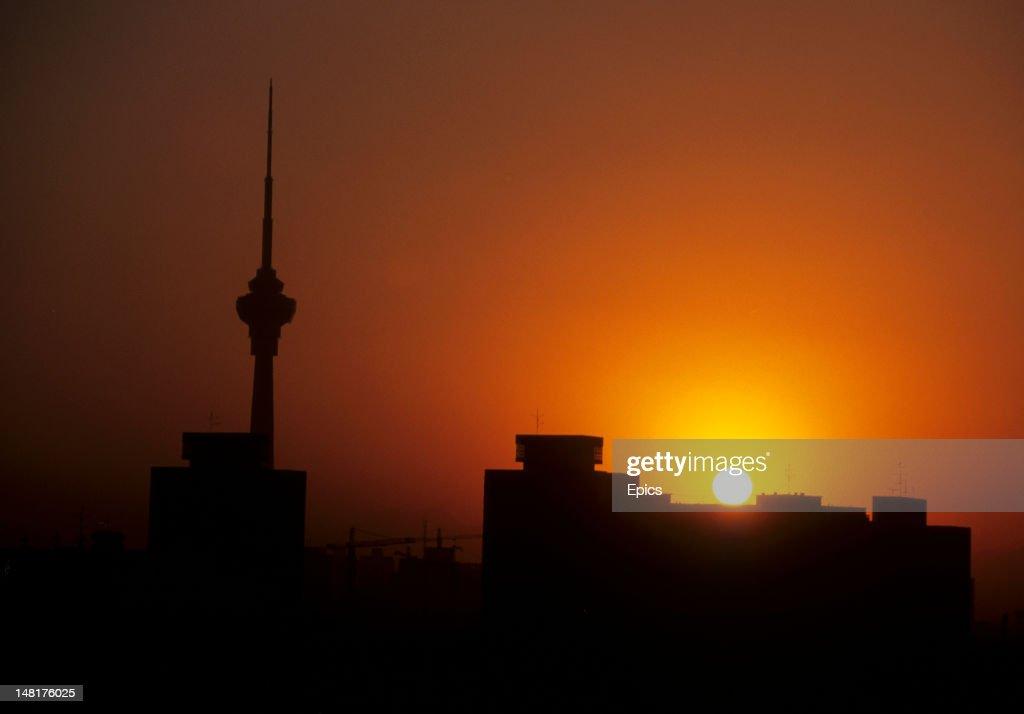 Beijing Sunset : News Photo