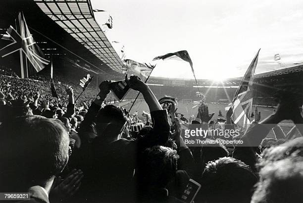 1966 Part of the enthusiastic crowd at an England match at Wembley Stadium during the 1966 World Cup Finals