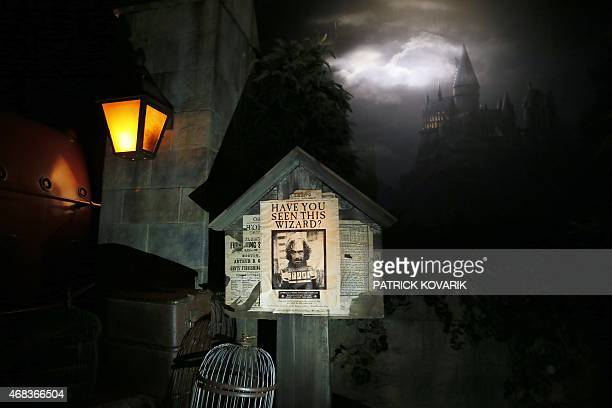 Part of the exhibition on the literary characters and themes of the Harry Potter novels at the Cite Du Cinema on April 2 in SaintDenis Harry Potter...