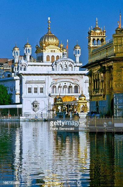 Part of the Golden Temple the main sanctuary for Sikhs