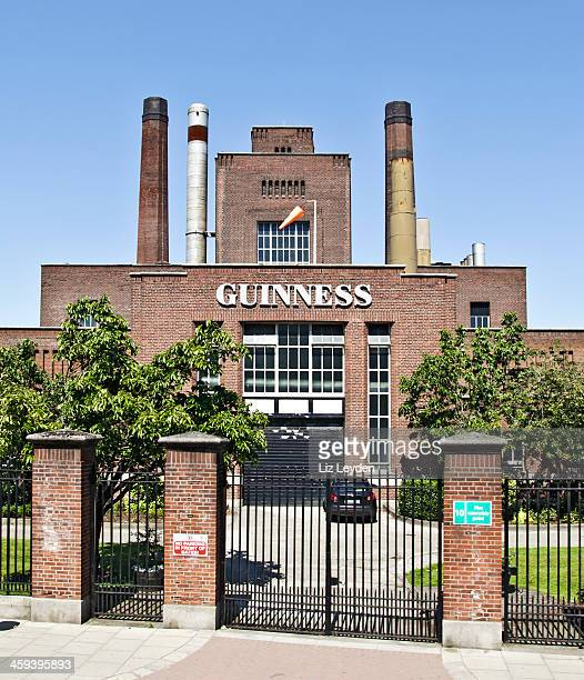 part of the guinness brewery, dublin, ireland - guinness stock photos and pictures