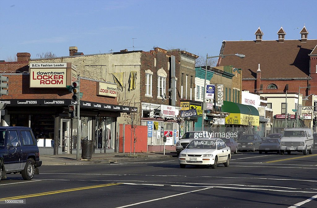 Part of the H street NE corridor, where the city is considering extending Capitol Hill and making a Historic district.