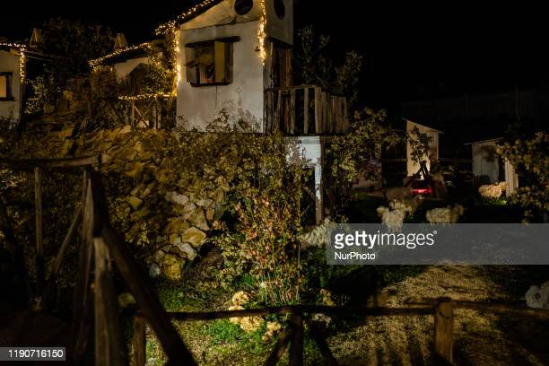 A part of the Living Nativity in Palombaio a small hamlet of Bitonto in Puglia on December 28th