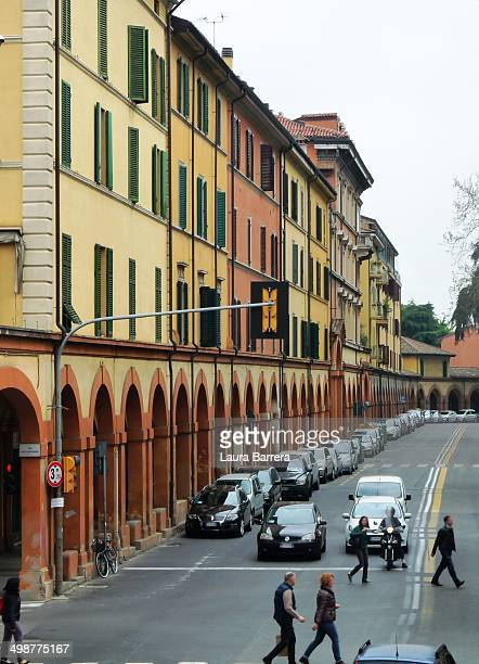 CONTENT] Part of the long roofed arched street connecting Bologna and the Santuary of the Madonna of San Luca From this crossing the street starts to...