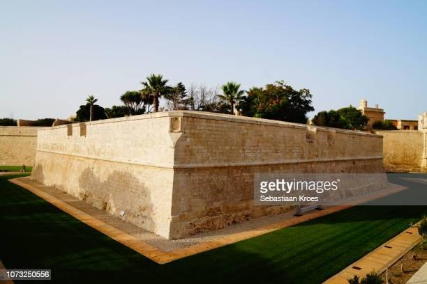 Part of the Medieval City Wall, Mdina, Malta