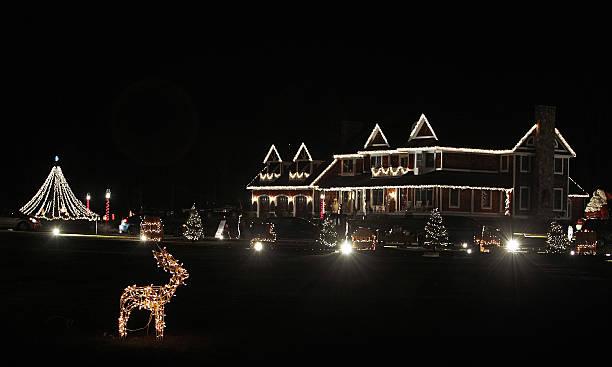 Christmas Lights In Millis Ma