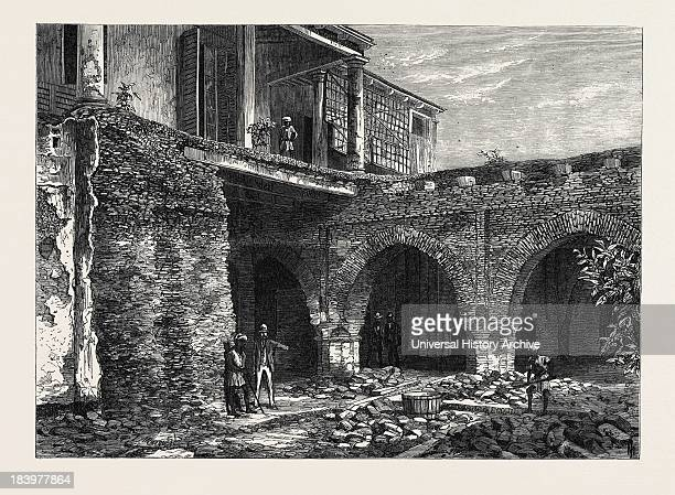 Part Of The Old Fort Calcutta India 1869