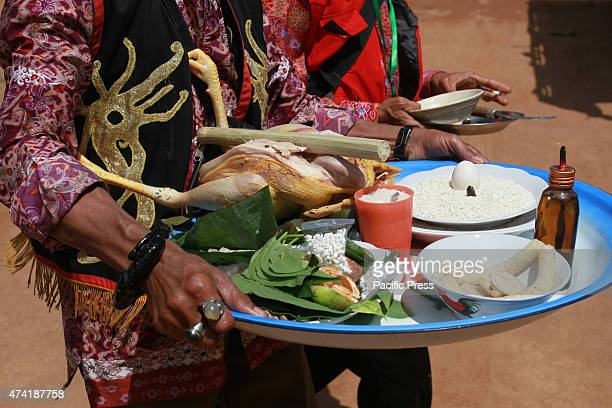 Part of the rituals of the indigenous Dayak as homage to the ancestor and God in the event Gawai Dayak Week which will took place on 20 to 27 May...