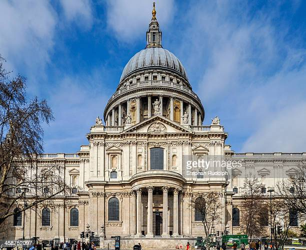 CONTENT] Part of the south side of St Paul's Cathedral in London