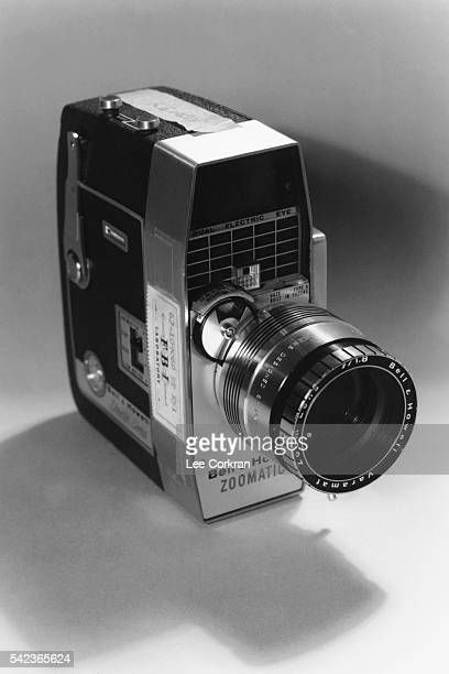 Part of the Warren Commission records on the assassination of President John F Kennedy the Bell and Howell zoomatic camera that filmed the...