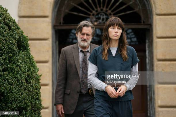 THE SINNER 'Part VI' Episode 106 Pictured Bill Pullman as Harry Ambrose Jessica Biel as Cora Tannetti