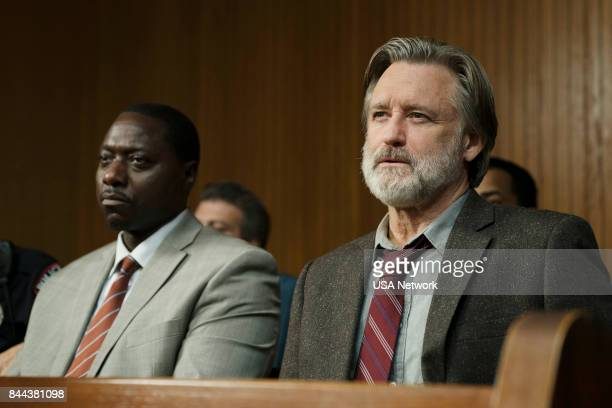 THE SINNER Part VIII Episode 108 Pictured Dohn Norwood as Detective Dan Leroy Bill Pullman as Detective Harry Ambrose