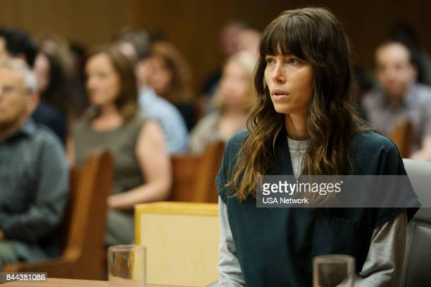 THE SINNER 'Part VIII' Episode 108 Pictured Jessica Biel as Cora Tannetti