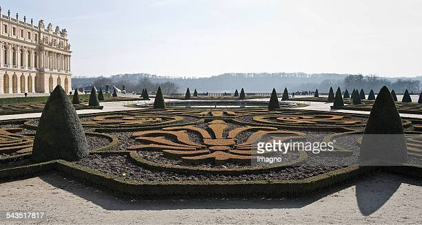 Parterre in front of Versailles palace About 2005