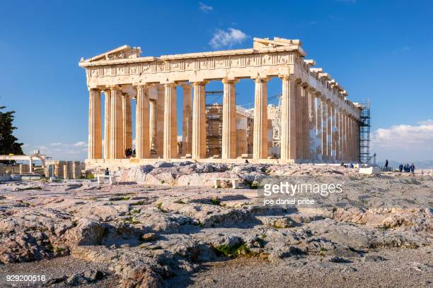 parthenon, acropolis, athens, greece - greece stock pictures, royalty-free photos & images