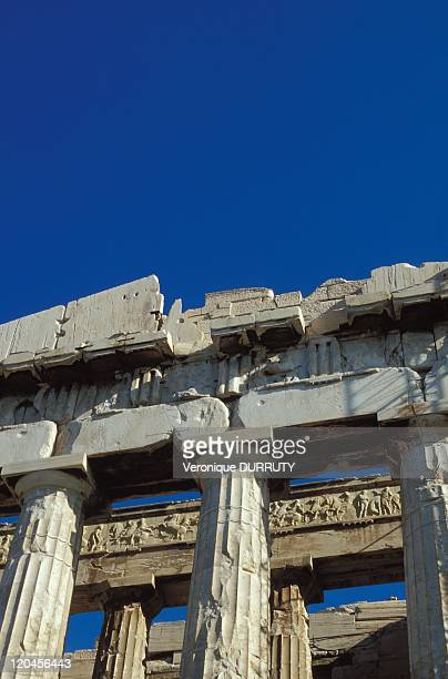 Parthenon Acropolis Athens Greece The Parthenon is a temple built for the Greek goddess Athena who was known as the goddess of wisdom in the 5th...