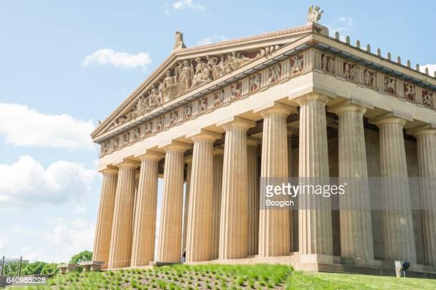 Parthenon Architecture Replica Building Nashville Tennessee Park