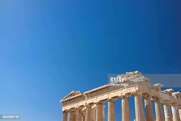 parthenon at the acropolis, athens, greece - パルテノン神殿 ストックフォトと画像