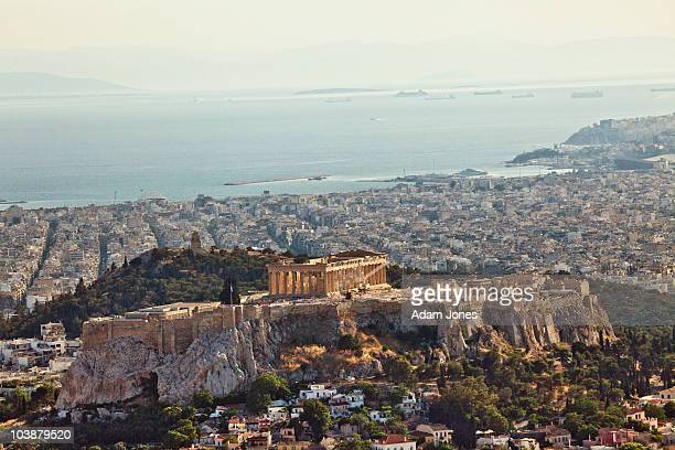 Parthenon from Lycabettus Hill