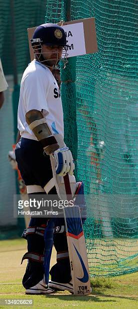 Parthiv Patel of India during a nets session ahead of the 3rd One Day International match between India and West Indies at Sardar Patel Stadium on...