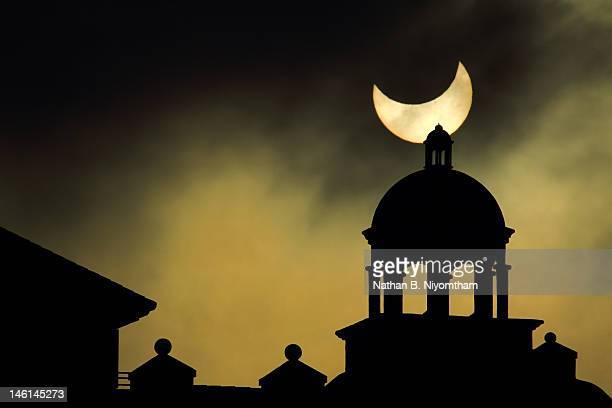 Partial Annular Solar Eclipse