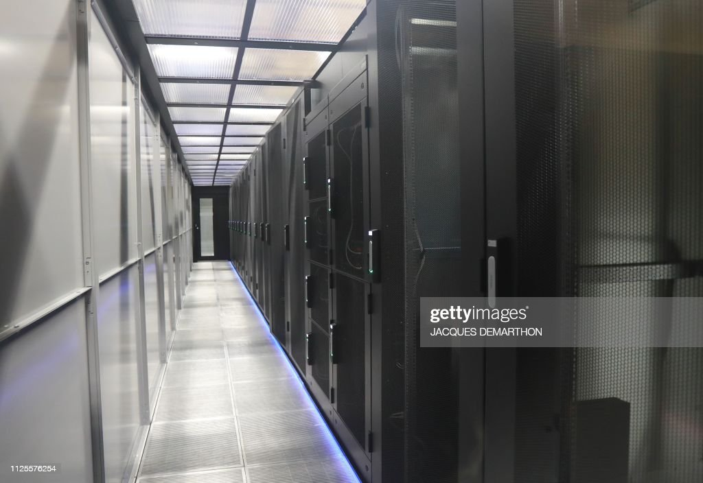 FRANCE-TECHNOLOGY-PA8-EQUINIX : News Photo