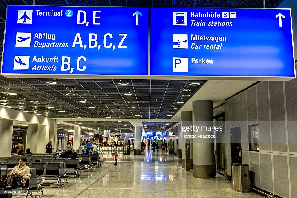 Flughafen Frankfurt Ankunft Terminal 1
