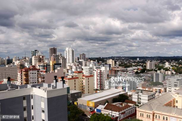 partial view of the city of passo fundo - rs - brazil - リオグランデドスル州 ストックフォトと画像