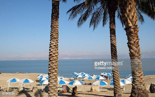 Partial view of the famous Israeli site of Ein Gedi on the Dead Sea 09 February 2002 The Dead Sea is dying environmentalists warned 15 April 2006...