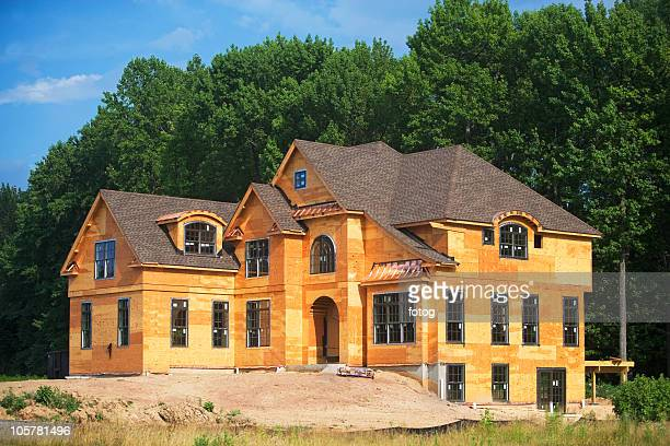Partially built house