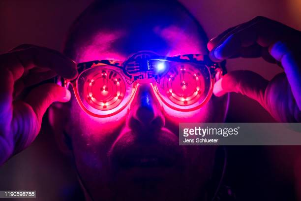 Participant attends the first day of the 36C3 Chaos Communication Congress on December 27, 2019 in Leipzig, Germany. The four-day event under the...