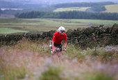 bolton england participant competes cycle leg