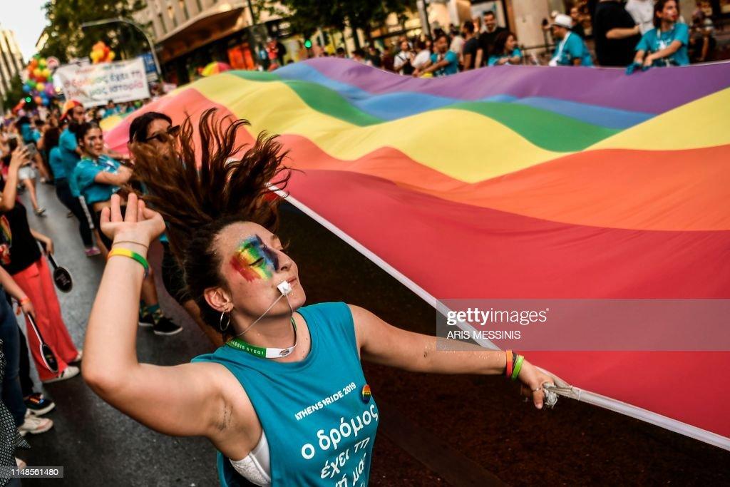 GRRECE-GAY-PRIDE : News Photo