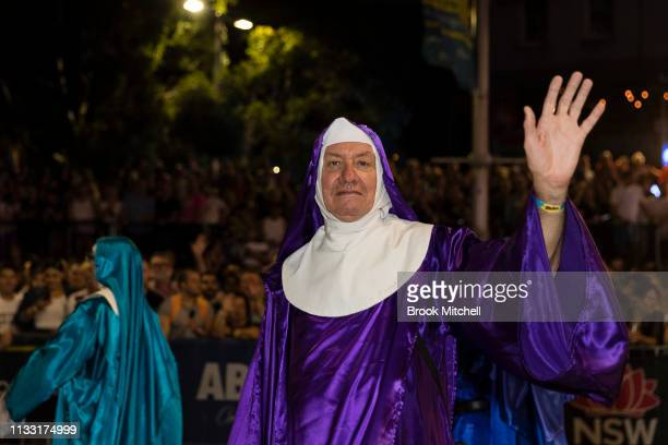 A participant gets in the spirit during the 2019 Sydney Gay Lesbian Mardi Gras Parade on March 02 2019 in Sydney Australia The Sydney Mardi Gras...