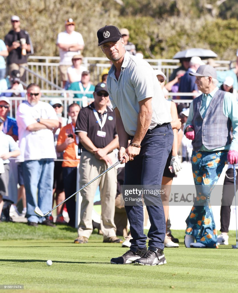 3M Celebrity Challenge At The PGA Pebble Beach AT&T Pro AM : News Photo