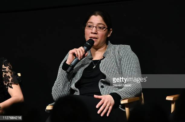Participant Laura Estrada Sandoval attends QA for NY premiere of HBO's The Case Against Adnan Syed at PURE NON FICTION on February 26 2019 in New...