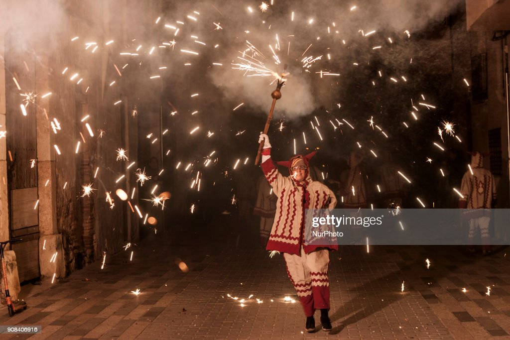 Celebration of the carnival 'Nit del Foc'