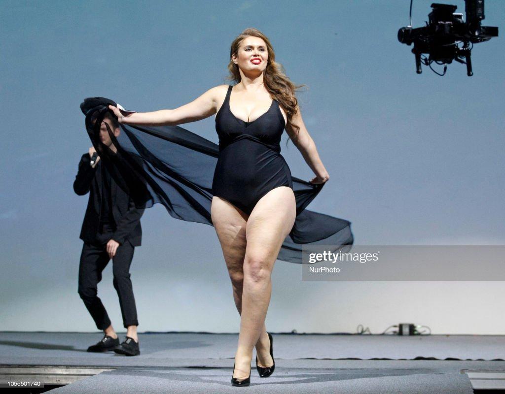 'Miss Ukraine Plus Size 2018' In Kiev : News Photo