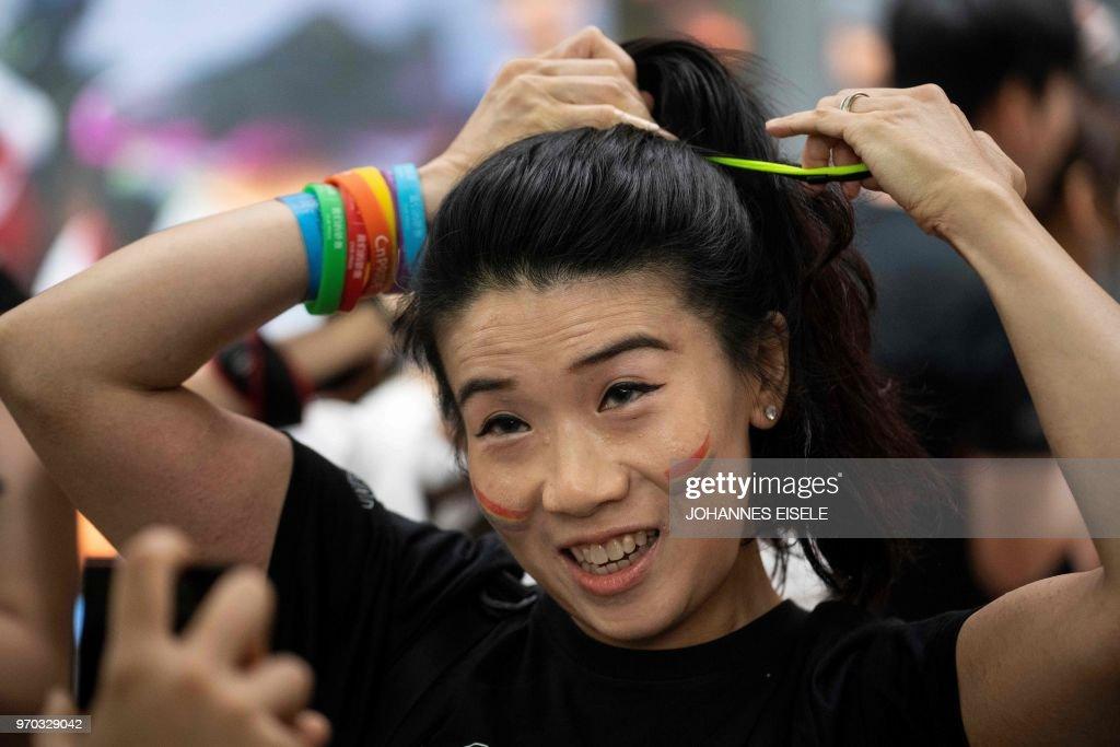 CHINA-LGBT-PRIDE : News Photo
