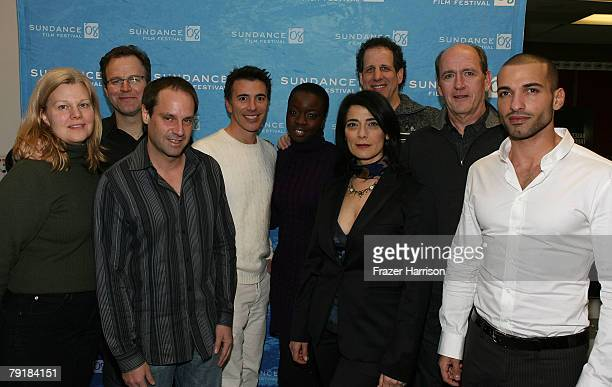 Participant Productions' Mary Jane Skalski director Tom McCarthy founder and chairman Jeff Skoll President Ricky Strauss actors Danai Gurira Hiam...