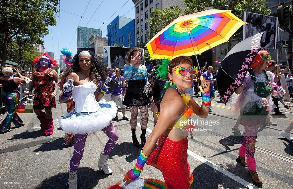 Gay pride parade in san francisco 2009