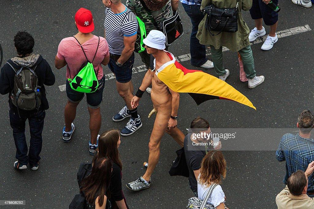 Gay nude street parades