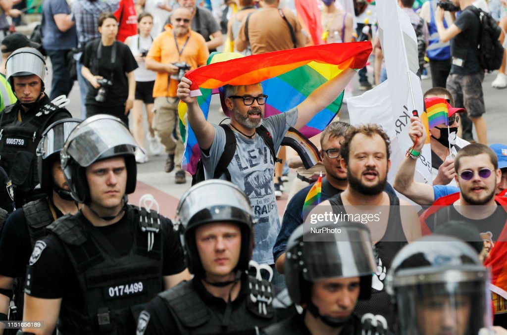 Kyiv Pride Gay Parade In Kiev : News Photo