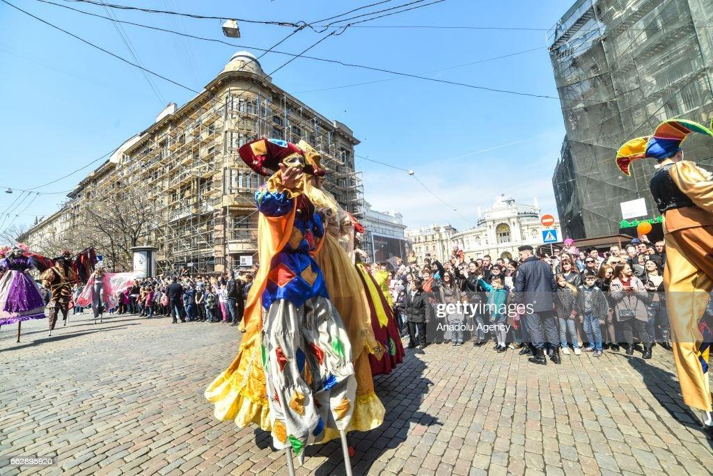 Festival of Humor in Odessa : News Photo